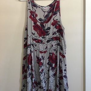 L : Free People Voile and Lace Trapeze Slip